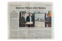 Next Architekten Zeitungsbericht
