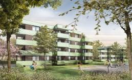 Baubeginn – Wohnanlage Tristanstraße