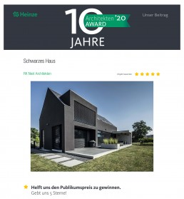 Heinze Architekten Award 2020